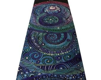 ThinkYoga Kawea Yoga Mat Eco-Friendly | Non-Slippery | Perfect for Hot Yoga, Bikram, Pilates | Includes Carrying Strap!
