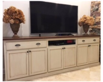 Credenza, Media stand with Storage