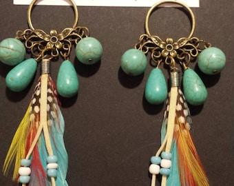 """""""Dream"""" pendant earrings"""