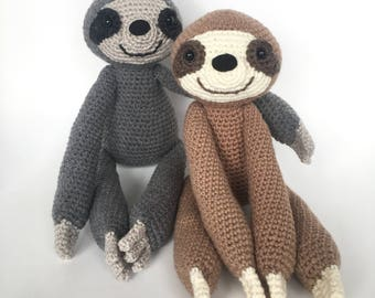 Amigurumi crochet pattern: Sloth