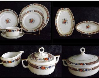 Price Reduction - H C Selb Bavaria Imperial China - Heinrich Co China and Accessories