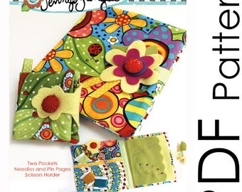 PDF Sewing Traveler Organizer and Needle Book