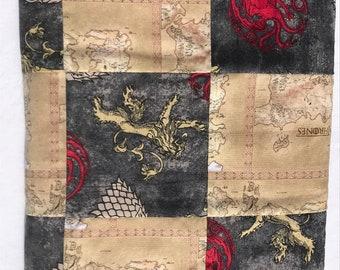 Game of Thrones Semi Quilt Baby Blanket