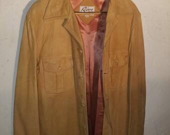 vintage Remy suede leather jacket