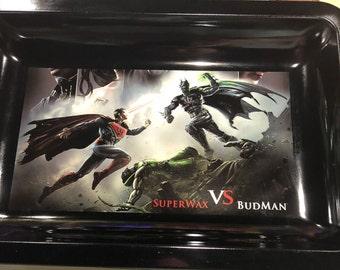 Superman vs Batman Tobacco Rolling Tray