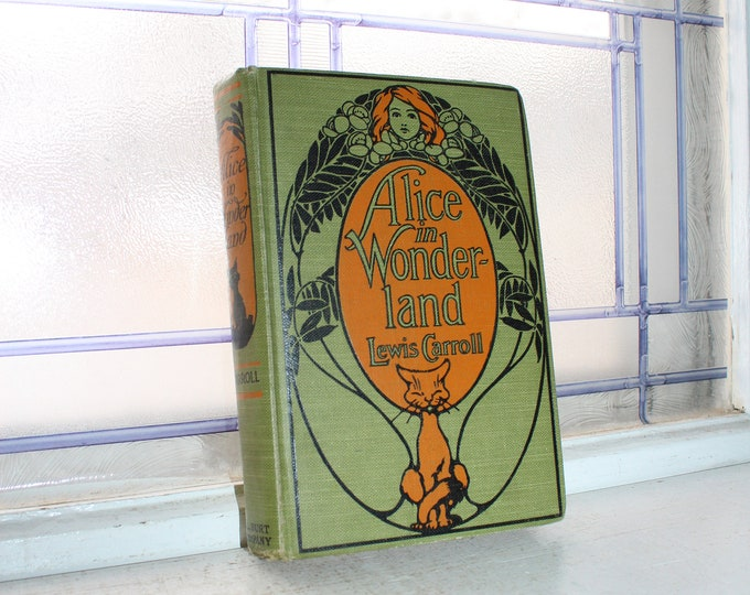 Antique Book Alice In Wonderland A L Burt Co Publisher Early 1900s