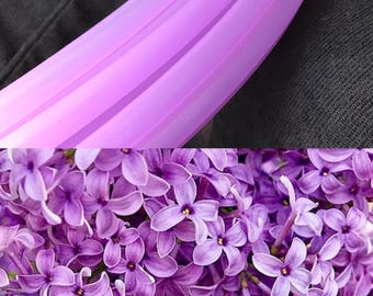 "NEW UV Lilac (translucent) Polypro Custom Hoop 5/8"" & 3/4"""