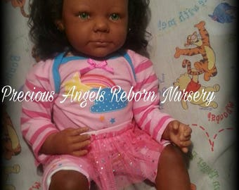 Custom Made To Order AA/Biracial  Small Toddler Made From The Chole Kit