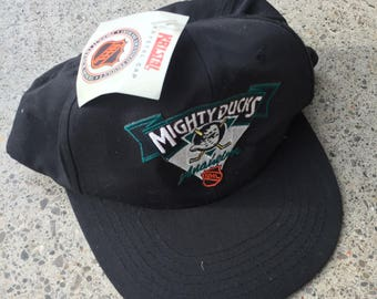 Deadstock Anaheim Mighty Ducks Snap Back Hat