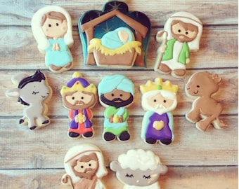 Nativity cookie cutters (2016)