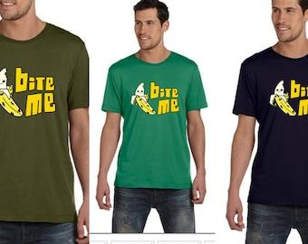 Mens fruit Shirt - Vegan Clothing - Vegan Shirt - fruit shirt - banana shirt TsGhIP