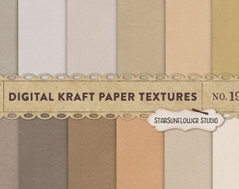 Digital Kraft Paper Textures No. 19