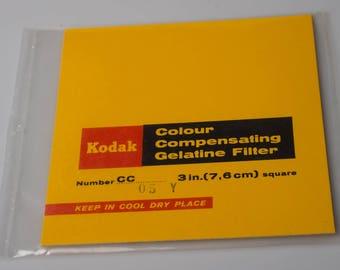 Kodak Wratten 75mm square gelatin colour compensation filter