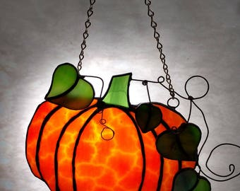 Pumpkin Suncatcher