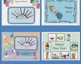 90th Birthday Cards - Milestone card - 4 variations - Free Shipping in USA