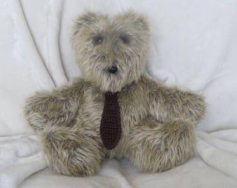 Teddy Bear Stuffed Animal Bear  Boy Gift Boy Baby Shower