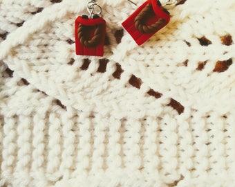 Winter Sled Drop Earrings