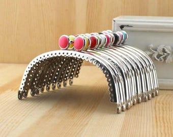 3pcs. 8.5cm purse frame purse clasp clutch frame metal purse frame purse making supplies wholesale(yx)