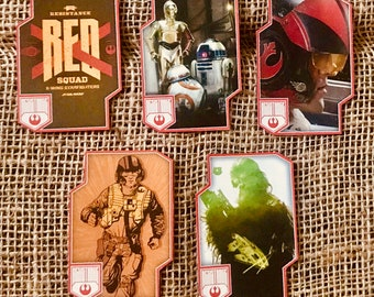 Star Wars Resistance and First Order Playing Card Magnets