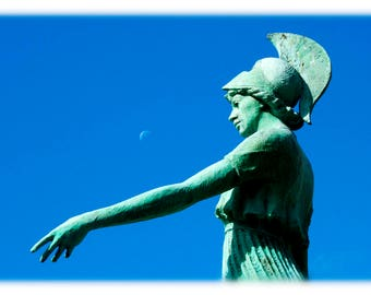 UNCG Minerva and the Moon