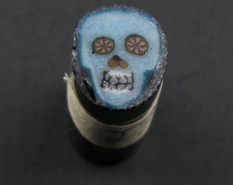 Bleu Skull par Greg Chase Murrine Boro canne 7 grammes - 144 je