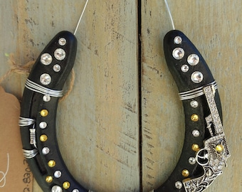 Decorative Horseshoe - Swarovski crystal shooter