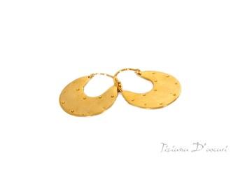 Gold Earrings,Gold Hoop Earrings,Silver Hoop Earrings,Silver Earrings,Ethnic Earrings,Silver Ethnic Earrings,Tribal Earrings,Gift,women gift