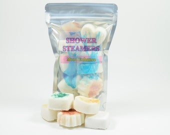 Shower Steamers - Natural Handmade Shower Steamer, Shower Melts, Shower Tablets, Shower Fizzy, Shower Soothers, Shower Fizzies, shower spa