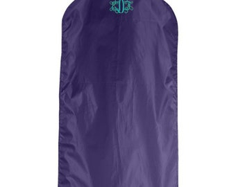 Monogrammed Garment Bag, Hanging Garment Bag, Personalized Garment Bag, Custom Garment Bag, Clothes Bag, Nylon Garment Bag