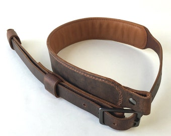 Crazy Horse Leather Rifle Sling