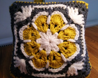 Mini Crotchet Cushion