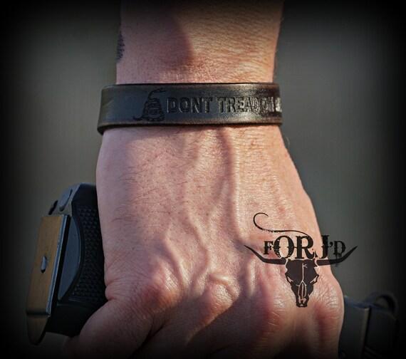 Personalized Leather Bracelet, Genuine leather bracelet, Men's Leather Bracelet, Women's Leather Bracelet