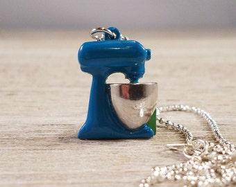 Ktchen Aid Mixer Charm Necklace