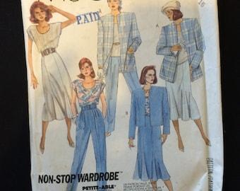 McCalls 2931 Womens Wardrobe Pattern