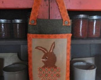 Carrot and Rabbit Digital Download Pattern