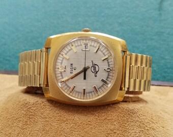 Elgin Swisssonic Electric Mechanical Watch
