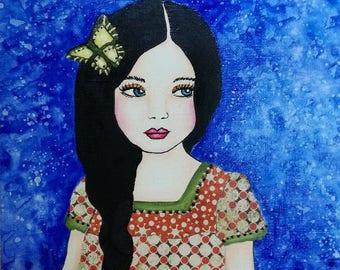Butterfly Girl, Sunnymixedmedia