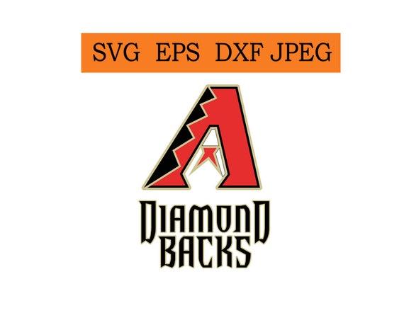 Arizona Diamondbacks Logo In SVG Eps Dxf Jpg Files INSTANT DOWNLOAD From BestShopGraphic On Etsy Studio