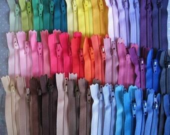 12 inch YKK Zippers - Set of 24 pcs