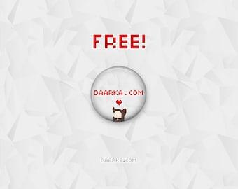 Daarka.com Support! (Pin-Back Buttons)