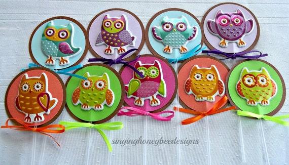 Owl cake toppers owl 1st birthday owl birthday party theme owl