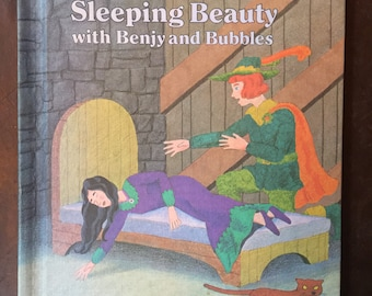 Vintage 1979 Sleeping Beauty with Benjy and Bubbles Book Ruth Lerner Perle