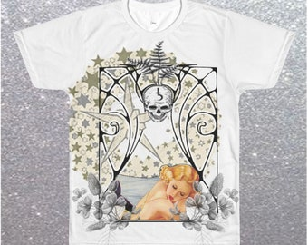 Mens Sandman Sleeps Graphic T shirt Limited Edition
