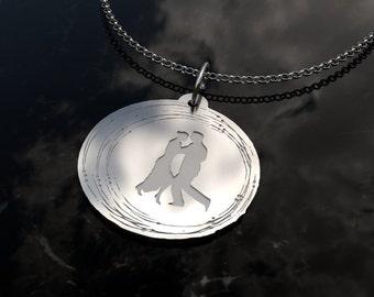 Luxury Tango Necklace | .925 Silver Tango Necklace | Tango Gift | Tango Gifts | Tango Jewellery | For Tango Instructor | Tango Jewelry