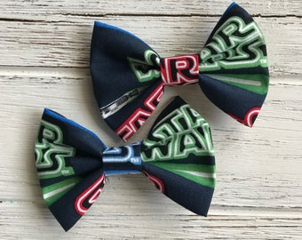 Lightsaber Star Wars bow,Lightsaber Star Wars Bow tie,Force be with you bow,Disney bow,Sta wars bow,Star wars bow tie,Star wars hair bow,Bow
