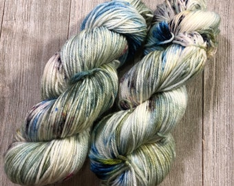 Hand Dyed Yarn DK weight SW Super Soft 100g Into The Woods