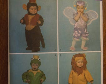 Simplicity 3594, sizes 1/2 to 4, costumes, UNCUT sewing pattern, craft supplies, childrens