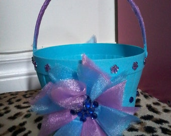 Blue and Purple Bucket