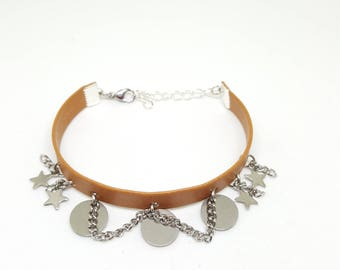 "Bracelet cuir femme ""SAHARA"""