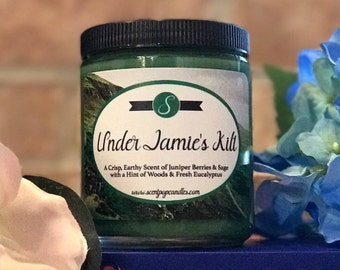 Under Jamie's Kilt™ , Outlander Inspired Soy Candle
